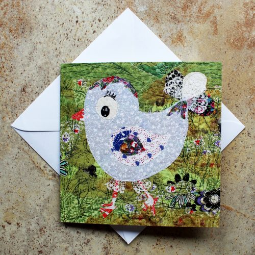 chic chick greeting card