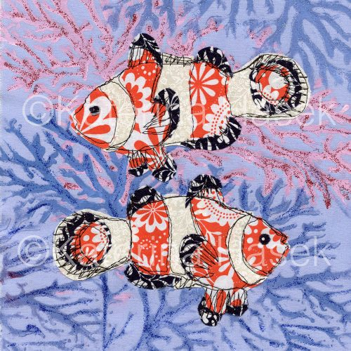 An applique image of Clownfish