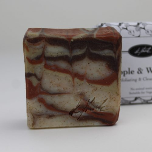 Handmade Apple & Walnut Exfoliating & Cleansing Bar
