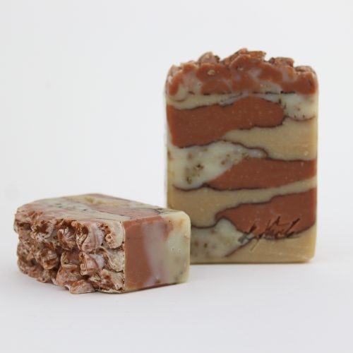 handmade Raspberry Cleansing Bar (Gentle Exfoliation for Face & Body)
